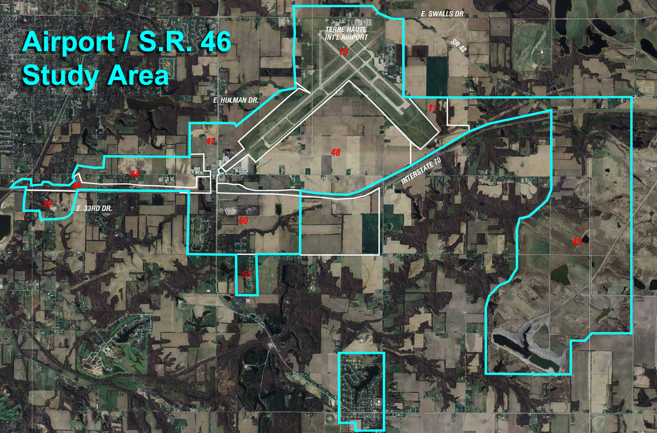 Airport SR 46 Map